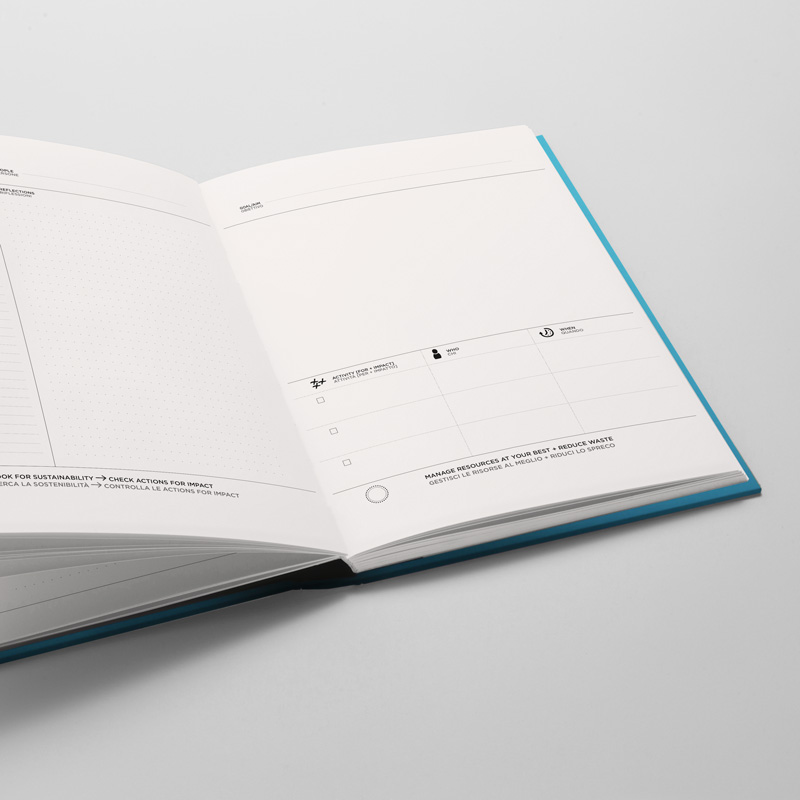 Impact Notebook - Quaderno e action planner